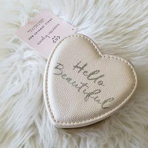 B2G1 NWT Nanette Lepore Heart Shaped Jewelry Box